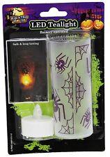 Batería LED de luz Halloween operativo Tealight Vela Linterna