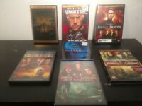 Lot Of 7 Fantasy/Action Movies On DVD/Blu-ray Pirates Mummy's Demons Knights