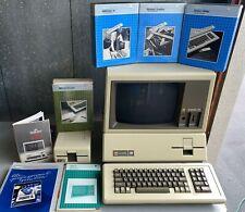 Refurbished Museum Quality Apple III 256K Computer Monitor /// 5.25 Disk Drive