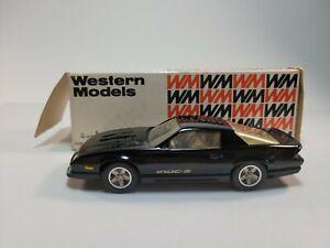 Western Models 1985 Chevrolet Camaro Z 28 Iroc Z 1:43 Scale