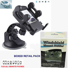 UNIVERSAL IN CAR WINDSCREEN MOBILE PHONE MP3 PDA SAT NAV HOLDER WITH DOUBLE LOCK
