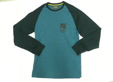 Billabong Mens The Big Cat Blue Long Sleeve T- Shirt