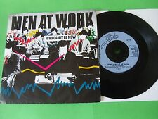 """MEN AT WORK - WHO CAN IT BE NOW  7""""  82  VG"""
