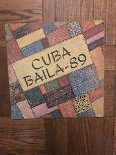 Cuban LP CUBA BAILA 89 / Reve,Pachito Alonso,Van Van,NG, Dan Den, Adalberto !!!
