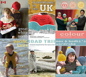 TIN CAN KNITS PATTERN BOOKS - VARIOUS