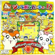 ✰Epoch Tottoko Hamutaro Hamtaro Hamster & Friends Japanese Game- Rare Gem- 2002✰