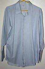 Brooks Brothers Men's Long Sleeve Shirt 16 1/2 - 32  Cotton Made in USA