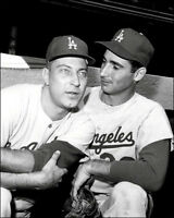 Johnny Podres & Sandy Koufax #1 Photo 8X10 Dodgers 1963