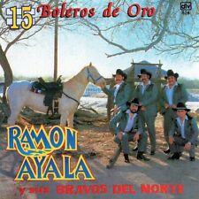 RAMON AYALA 15 boleros de oro México CD EMI Music 1995 !