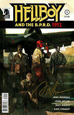 Hellboy And The B.P.R.D. 1952 #1 Signed By Artist Alex Maleev