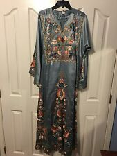 Palestinian Embroidered Thobe Abaya Caftan Middle Eastern Women Dress Wedding