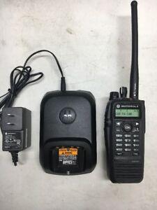 Motorola XPR6550 TRBO VHF 136-174mhz Portable Radio AAH55JDH9LA1AN R01.12.07 XPR