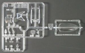 Tamiya 1/32nd Scale Supermarine Spitfire Mk. XVIe - Clear Parts from Kit 60321
