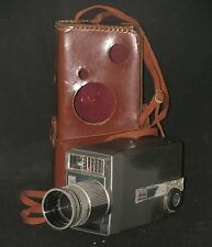 KODAK ZOOM 8 Automatic (1959) Vintage 8mm Camera  f/1.6 Lens & Case