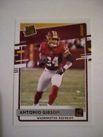 2020 Donruss Football Antonio Gibson RC Canvas Rated Rookie No. 335