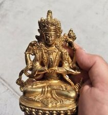 Bronze Tara Tibetan Goddess of Compassion Statue Sculpture Figure