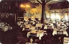 Fort Wayne Indiana English Terrace Restaurant Interior Vintage Postcard K38213