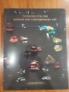 Christie's London Thinking Italian 6 October 2017 #14441