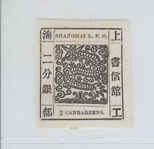 China- Shanghai- Large Dragon- 2Cds- Mnh