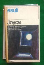 JOYCE - ESULI - GARZANTI