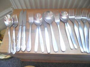 Viners cutlery oddments, job lot