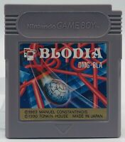 Nintendo Game Boy GB Blodia cartridge Only Japan Edition Us Seller