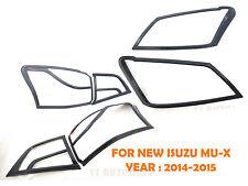 SET KEVLAR RING HEAD + TAIL LIGHT LAMP COVER FOR ISUZU MU-X MU X 4 DOOR SUV