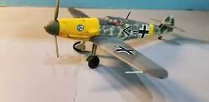 """ARMOUR (98011) LUFTWAFFE BF-109F """"WERNER MOLDERS"""" 1:48 SCALE DIECAST METAL MODEL"""