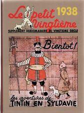 Intégrale des couvertures Petit Vingtième - Année 1938. Album cartonné - Neuf