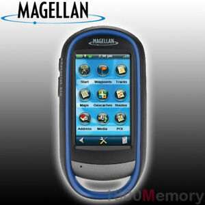 Magellan eXplorist 510 Handheld GPS with Camera IPX7 World Edition Map 3D View