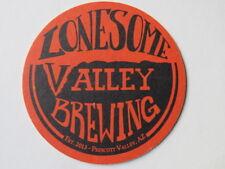 Beer Bar COASTER ~ LONESOME VALLEY Brewing ~ Prescott Valley, ARIZONA Breweriana