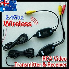 2.4GHz Wireless Video Transmitter Receiver Kit for Car Reverse Rear View Camera