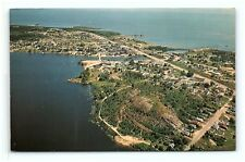 Postcard Canada Ontario Blind River Airview of City  G09