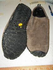 MERRELL Suede Leather Lined Winter Moc Slip-on Shoe WOMENS Size 9.5 EUR 40.5