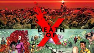 Death of X #1 2 3 4 (Full Set / Variants / Classic / Connecting / NM) MULTI-LIST