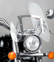 PUIG CUSTOM SCREEN CHOPPER HONDA VT750 SPIRIT 07-09 CLEAR