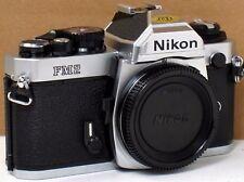 *** NEW, NEVER USED  *** Nikon FM2N 35mm Chrome Camera Body