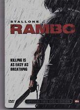 Stallone-Rambo 2 dvd Boxset Metal Case