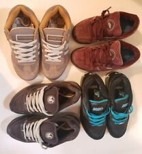 Lot of 4 used Size 6.5 7 7.5 Mens Boys Sneakers Van's DVS Skate Shoes