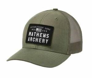 Mathews Archery Cap - Advocate Military Green - ADJ - NEW