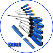 Kobalt 29-Pc Screwdriver Bit Set Precision, Magnetic Bit Holder, Chrome Vanadium