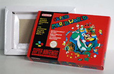 Boîte SNES – Super Mario World [FAH]