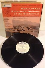 Ethnic Folkways / Music of the American Indians of the Southwest vinyl LP 1951