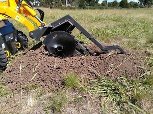 Trencher for mini digger/loader fits dingo kanga toro vermeer boxer viking