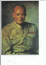Thomas Stevens' painting of General Eisenhower, Highly Collectible Lot Postcard