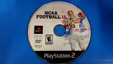NCAA Football 11 (Sony PlayStation 2, 2010)  Disc Only # 15159
