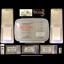 HEMP Soap Making Kit - Choice of fragrance FREE SHIPPING