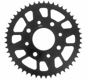 BikeMaster Rear Steel Sprocket for Street Size 525; 41 Tooth; Black (251 332 41)