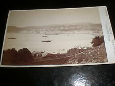 Cdv photograph view of Oban by G W Wilson at Aberdeen c1870s ref 38(1)