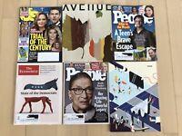 Lot Of 6 Magazines Ruth Ginsburg Leah Remini Regina King People Katie Holmes